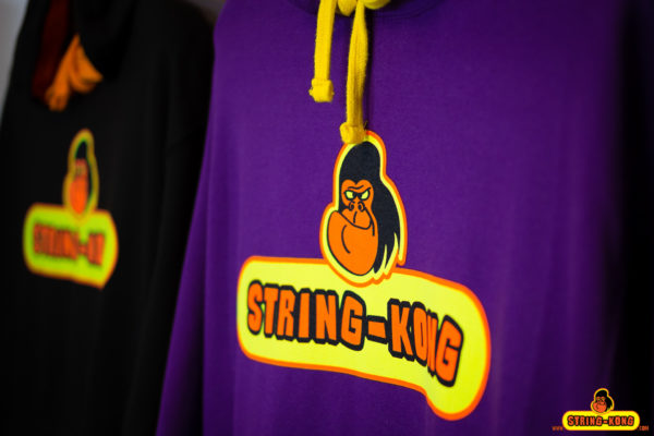 Felpa da tennis STRING-KONG CONTRAST HOODIE