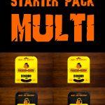 STRING-KONG STARTER PACK MULTI
