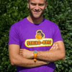 STRING-KONG T-SHIRT tennis purple