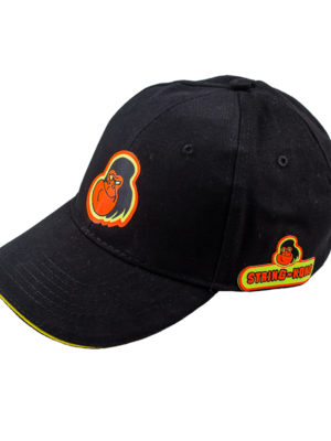 String-Kong Cotton Cap colore Black