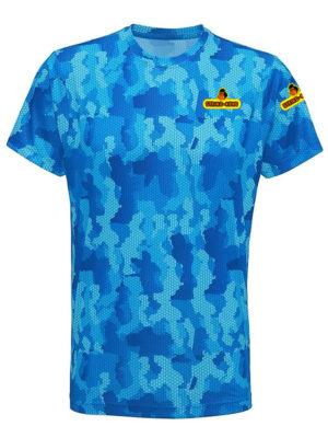 Jungle Tee String-Kong t-shirt azzurra fronte