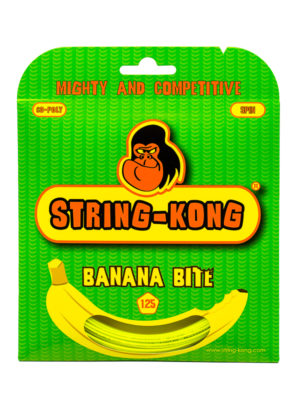 Banana Bite String-Kong 1.25 Set Tennis