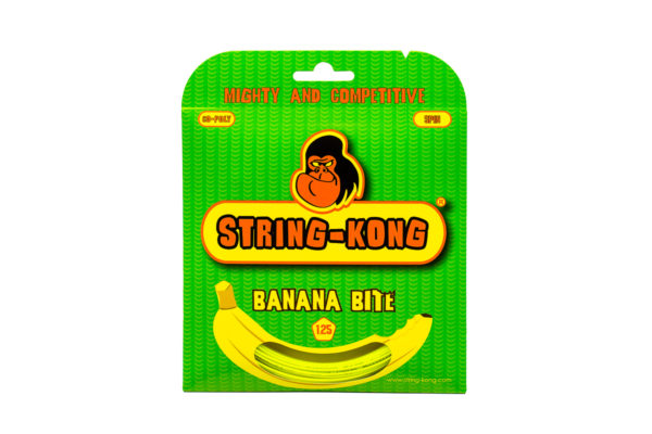 Banana Bite String-Kong 1.25 Set Tennis