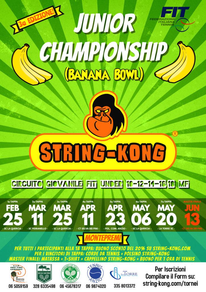 String-Kong Circuito Junior Banana Bowl