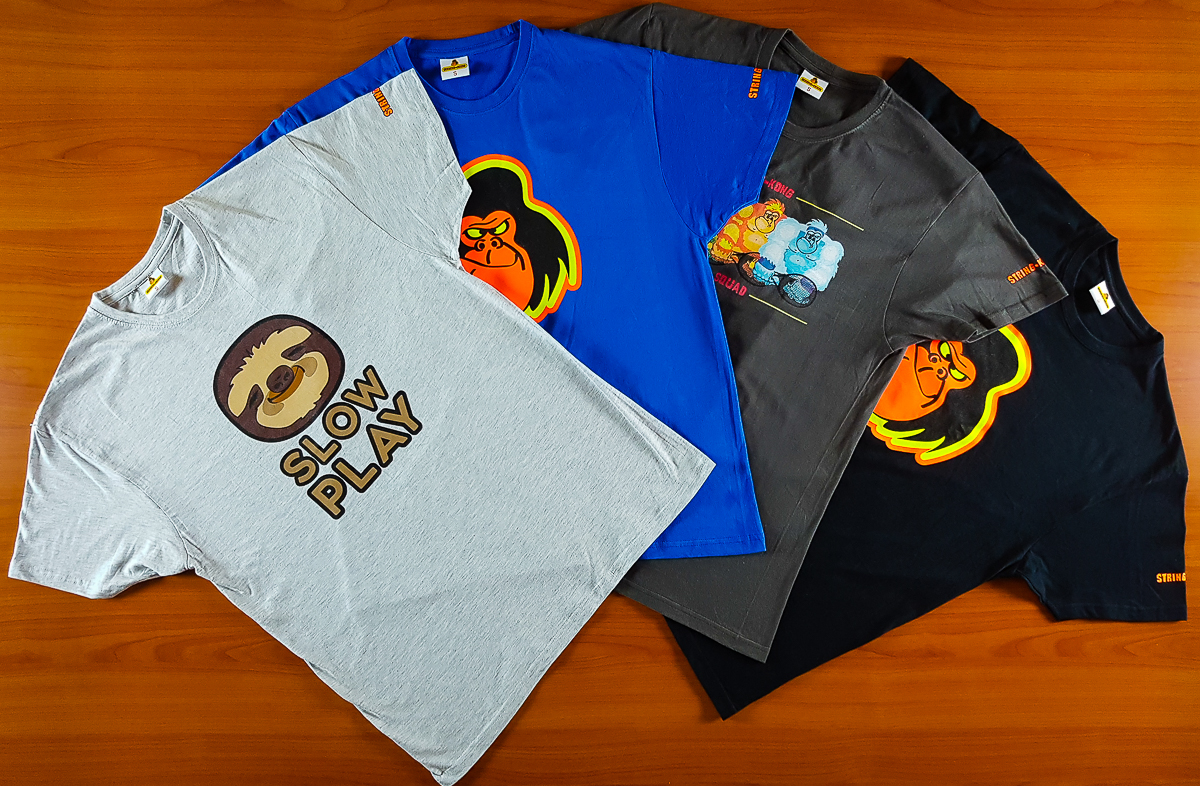 Nuove T-shirt String-Kong