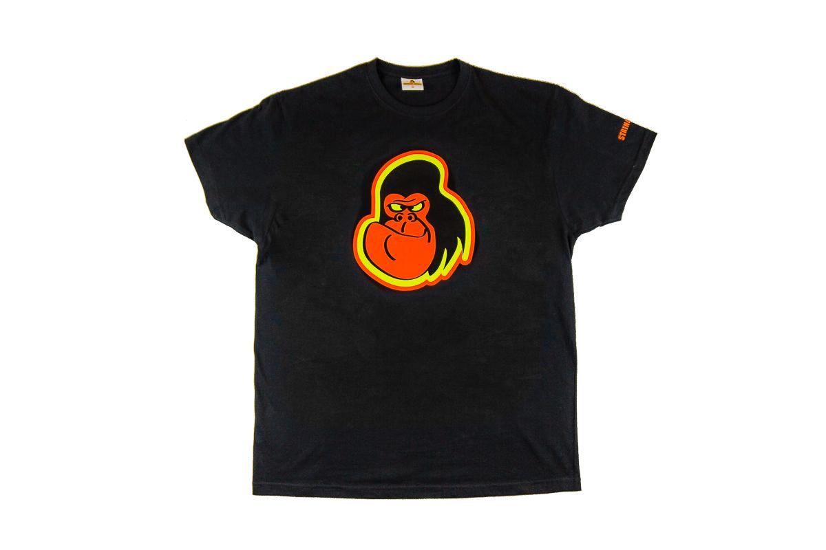 String-Kong Gorilla Black T-shirt
