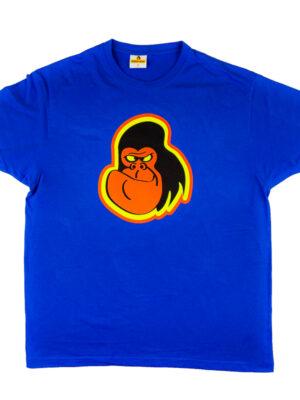 String-Kong Gorilla Blue T-shirt
