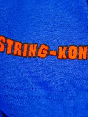 String-Kong Gorilla Blue T-shirt logo